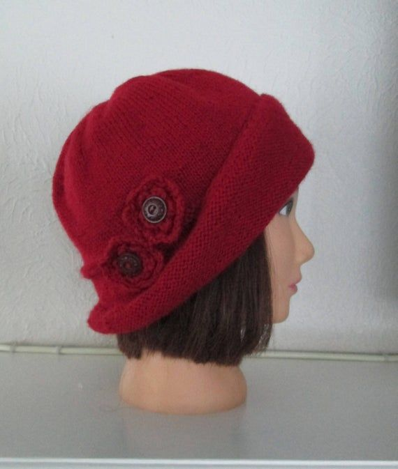 PDF Knitting Pattern The Lady Mary Hat Downton Abbey 1920s ...