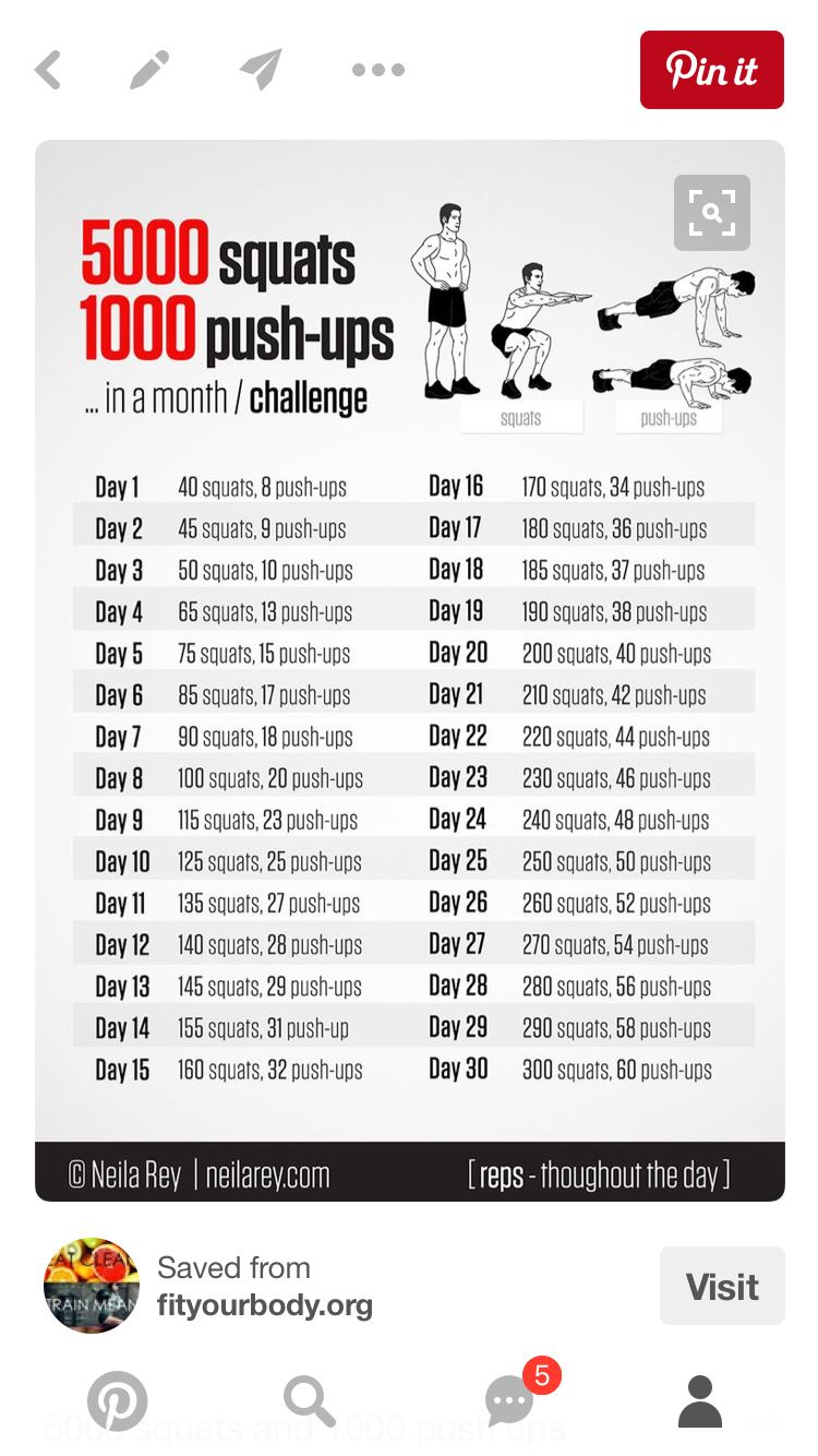Push Up Challenge For Beginners