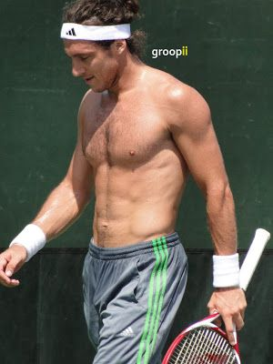 Pin on Tennis players shirtless