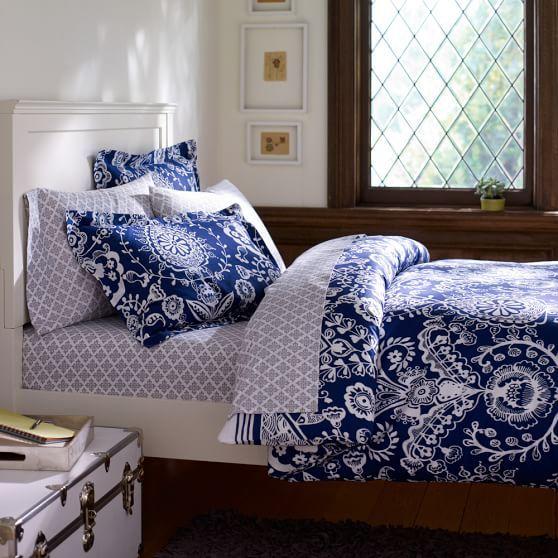 Natalia Duvet Cover Sham Bedroom Furniture Placement