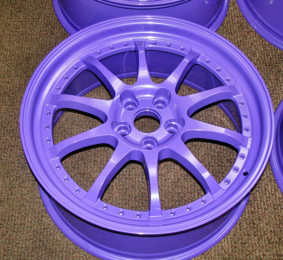 Powder Keg Coatings Is A Manufacturer Of Top The Line Custom Coating Paints Purple Coated Rims