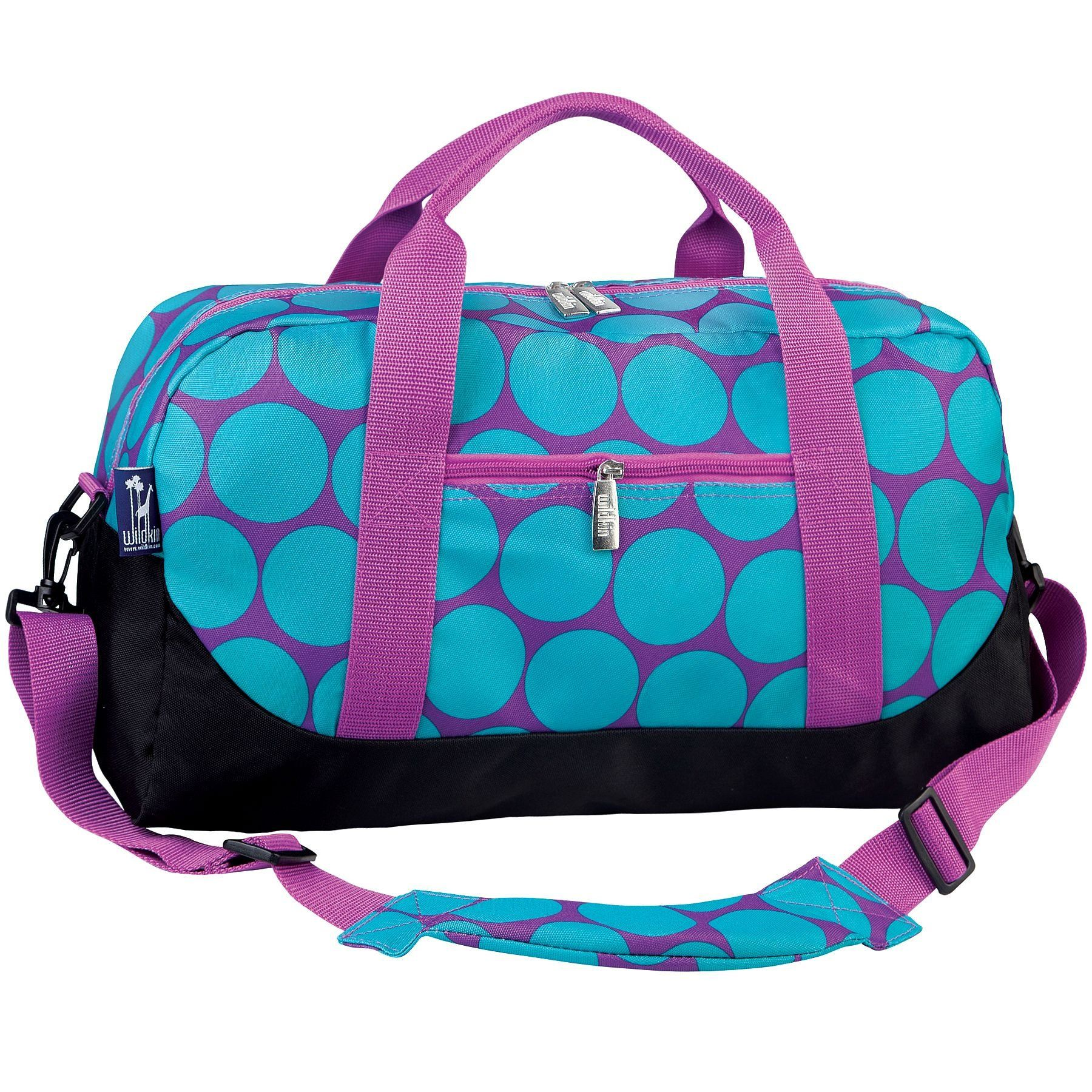 Personalized Girls Luggage Custom Duffle Bag Overnight Bag Kids