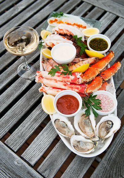 Christmas seafood platter - NZ Herald
