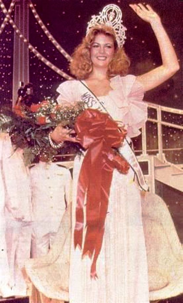 Miss Universe 1981 Irene Saez Conde From Venezuela Miss America Pageant Beauty Pageant