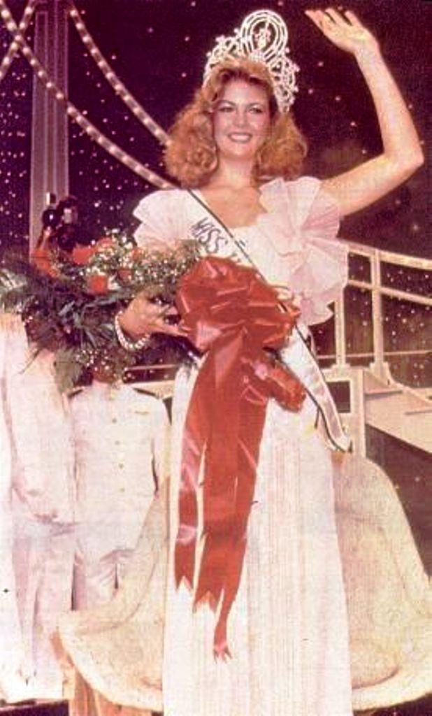 Miss Universe 1981 Irene Saez Conde From Venezuela