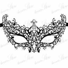 image result for intricate masquerade mask template halloween in