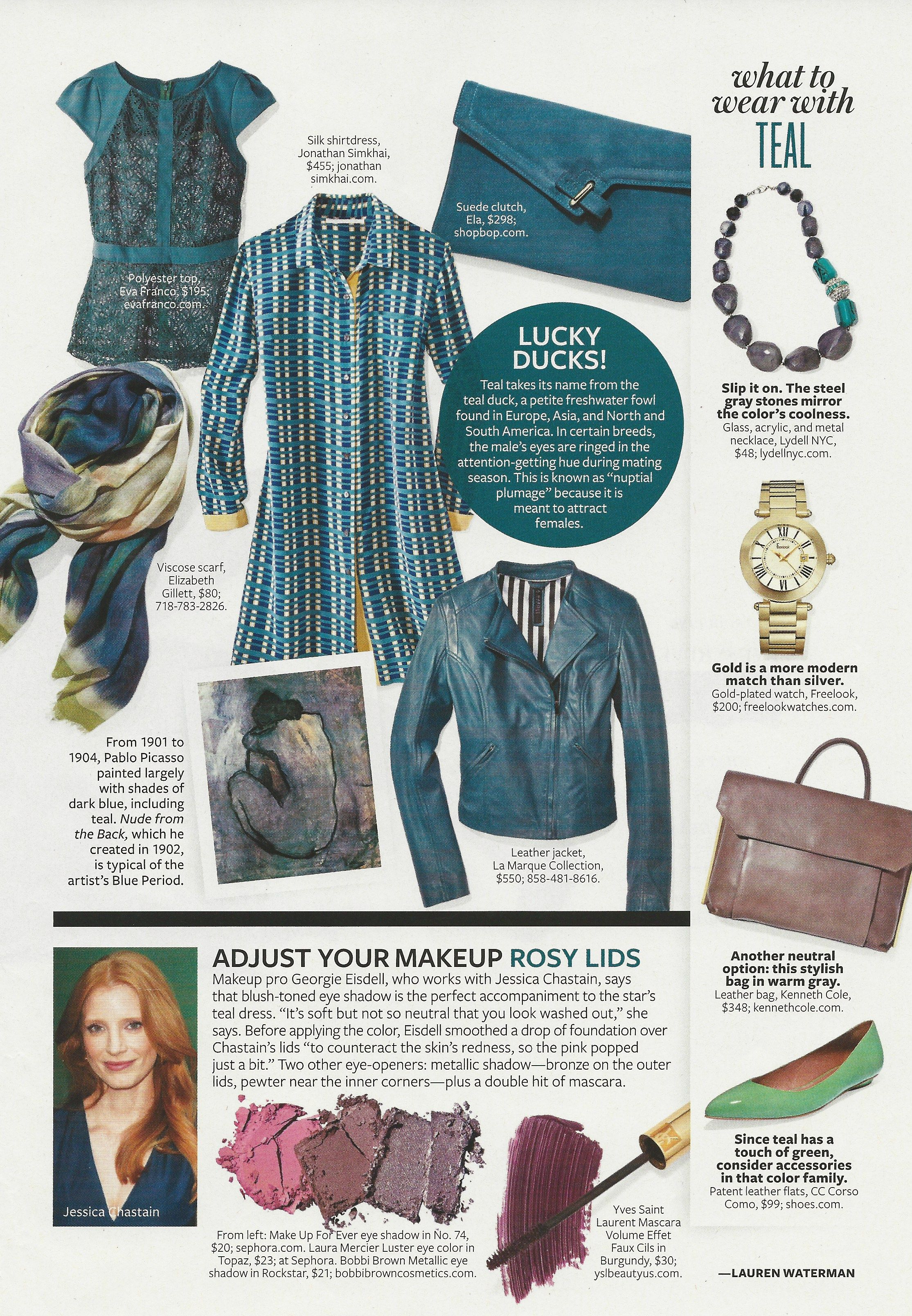 Color Crash Course Teal #Instyle