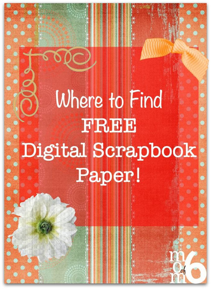 Where To Find Free Digital Scrapbook Paper Digital Scrapbooking