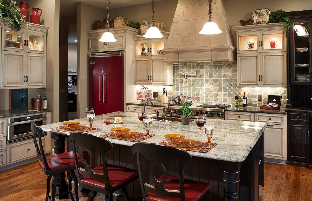 Old Fashioned Cupboards Amish Kitchen Cabinets Mediterranean Kitchen Design Custom Kitchen Island Kitchen Island Design
