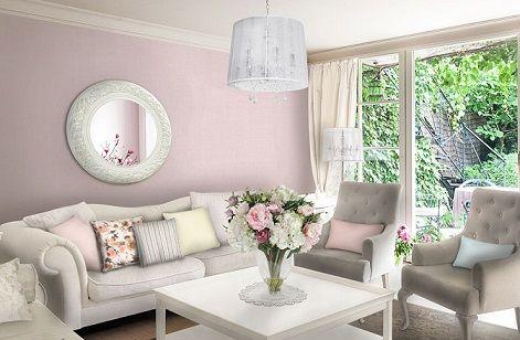 Salas En Color Rosa Y Gris Decoracion De Interiores Salas Decoracion De Salas Pequenas Decoracion De Salas