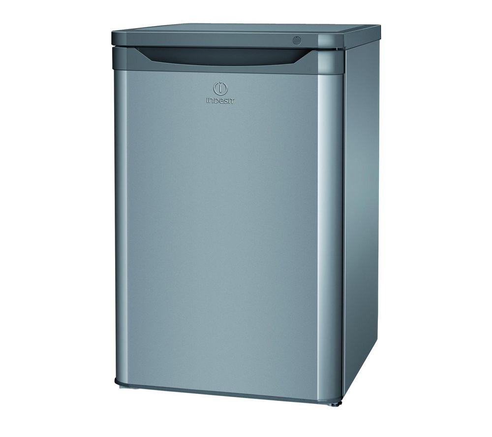 INDESIT TZAA10S Undercounter Freezer - Silver