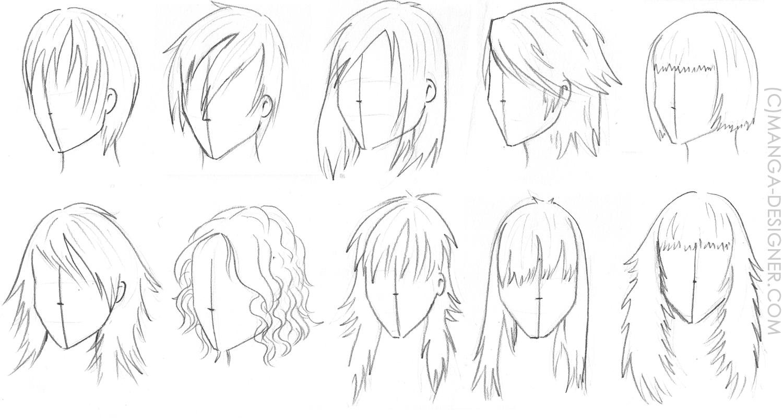 Coiffures Persos Manga Recherche Google Cheveux Pinterest