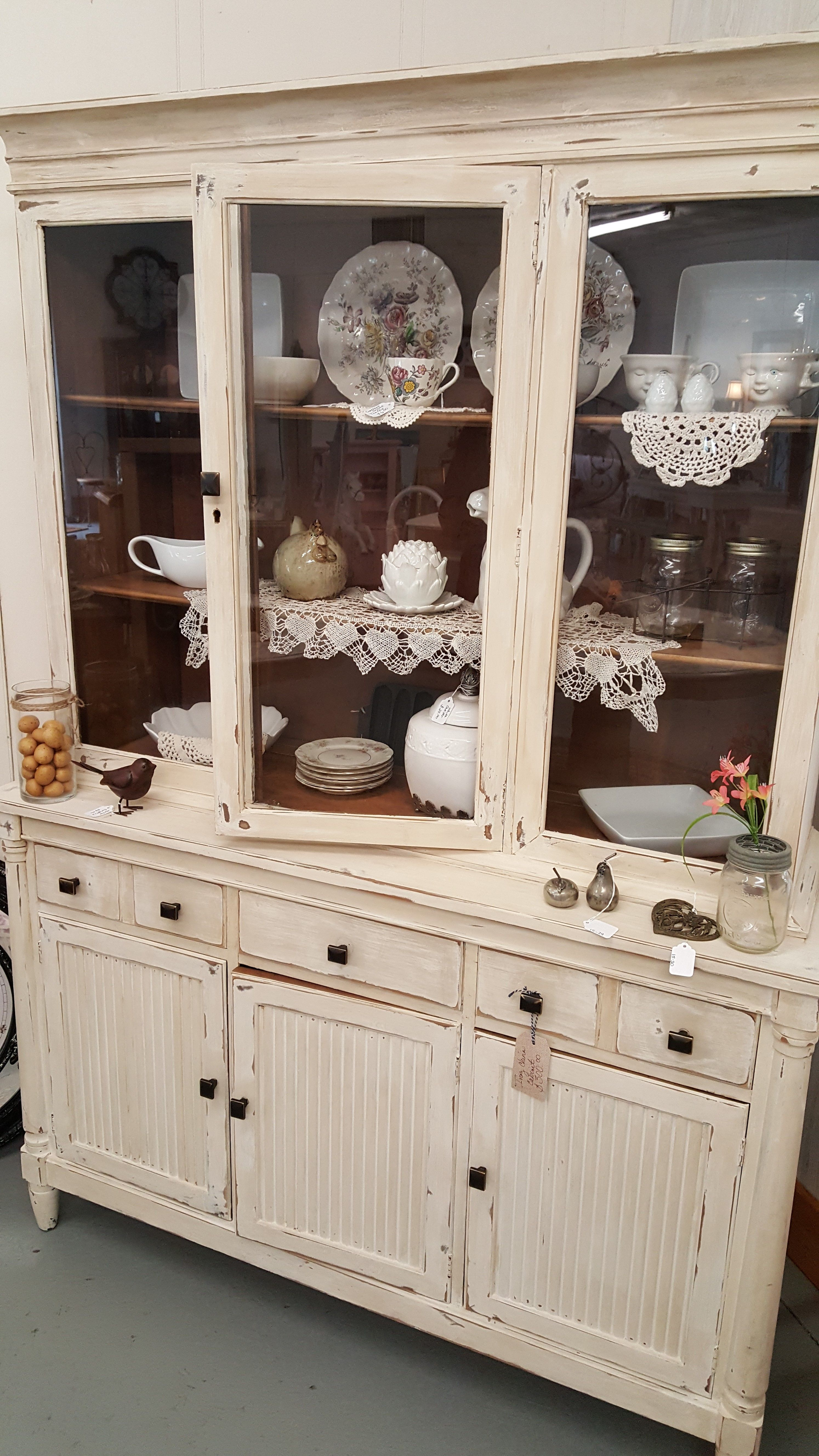 Farmhouse China Cabinet Sold Rustic Living Room Farmhouse