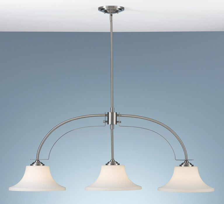 Murray feiss lighting f2248 3bs barrington 3 light pendant at del mar fans lighting