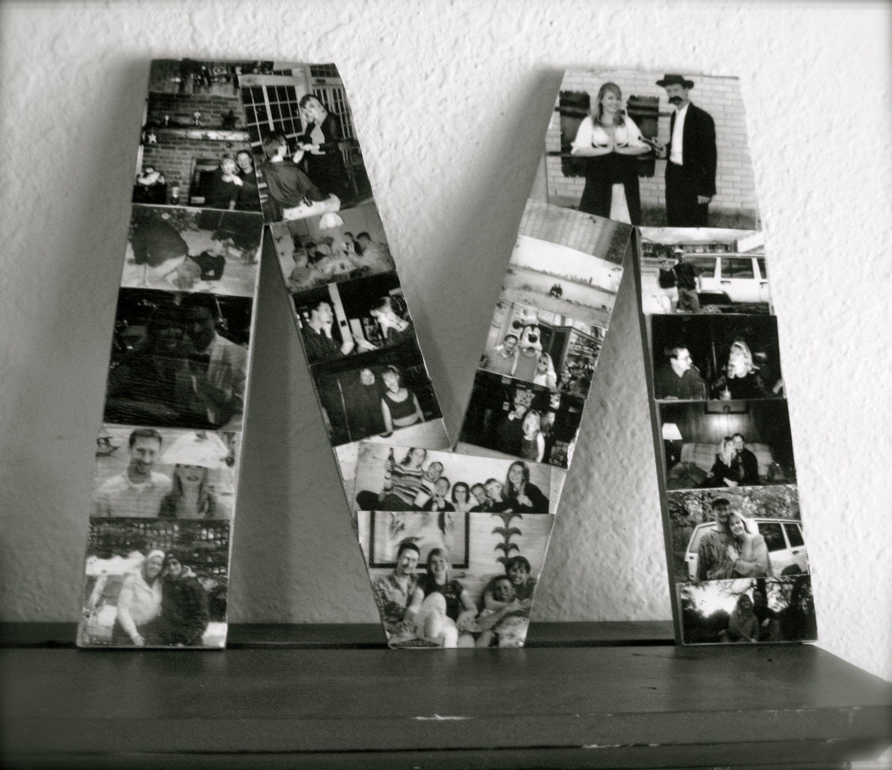 Letter Picture Collage   Mejores amigos, Amigos y Mejores