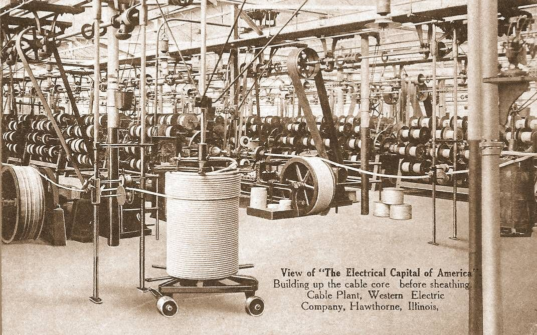 western electric cable plant hawthorne | Western Electric | Pinterest