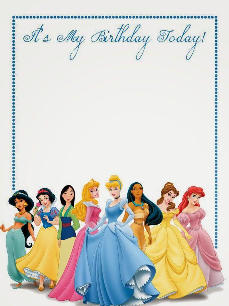 Disney Princess Free Printable Notebook. Princesas