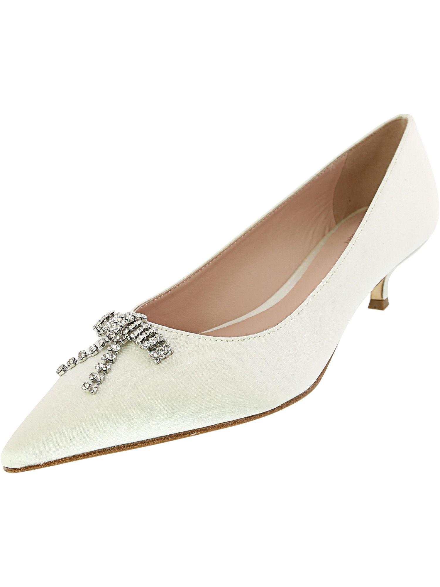 Kate Spade Women's Derbie Kitten Heels