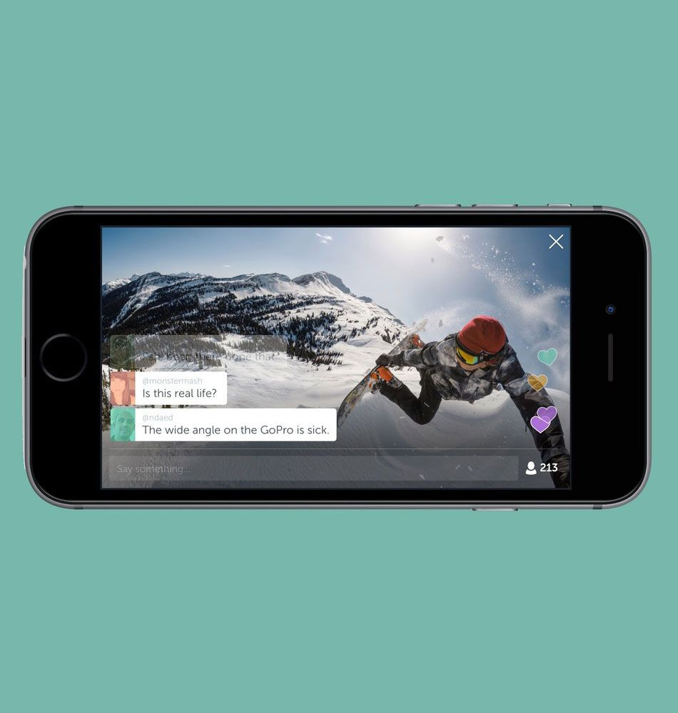 You can now live stream your GoPro footage on Periscope