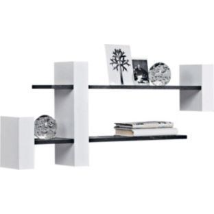 Photo Gallery For Website Buy Extendable Shelf Unit Black and White at Argos co uk Your