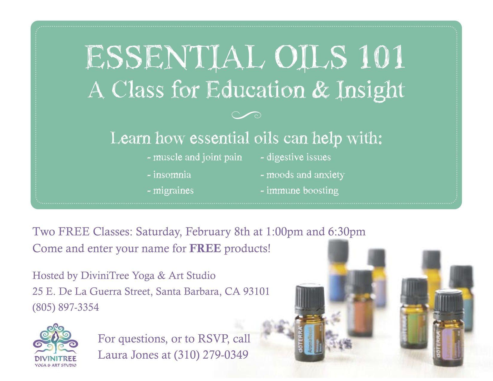 essential oils 101 class Google Search doTERRA invitations