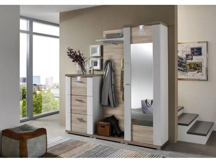 Xora Schuhschrank Manhattan Braun Holznachbildung Home Home