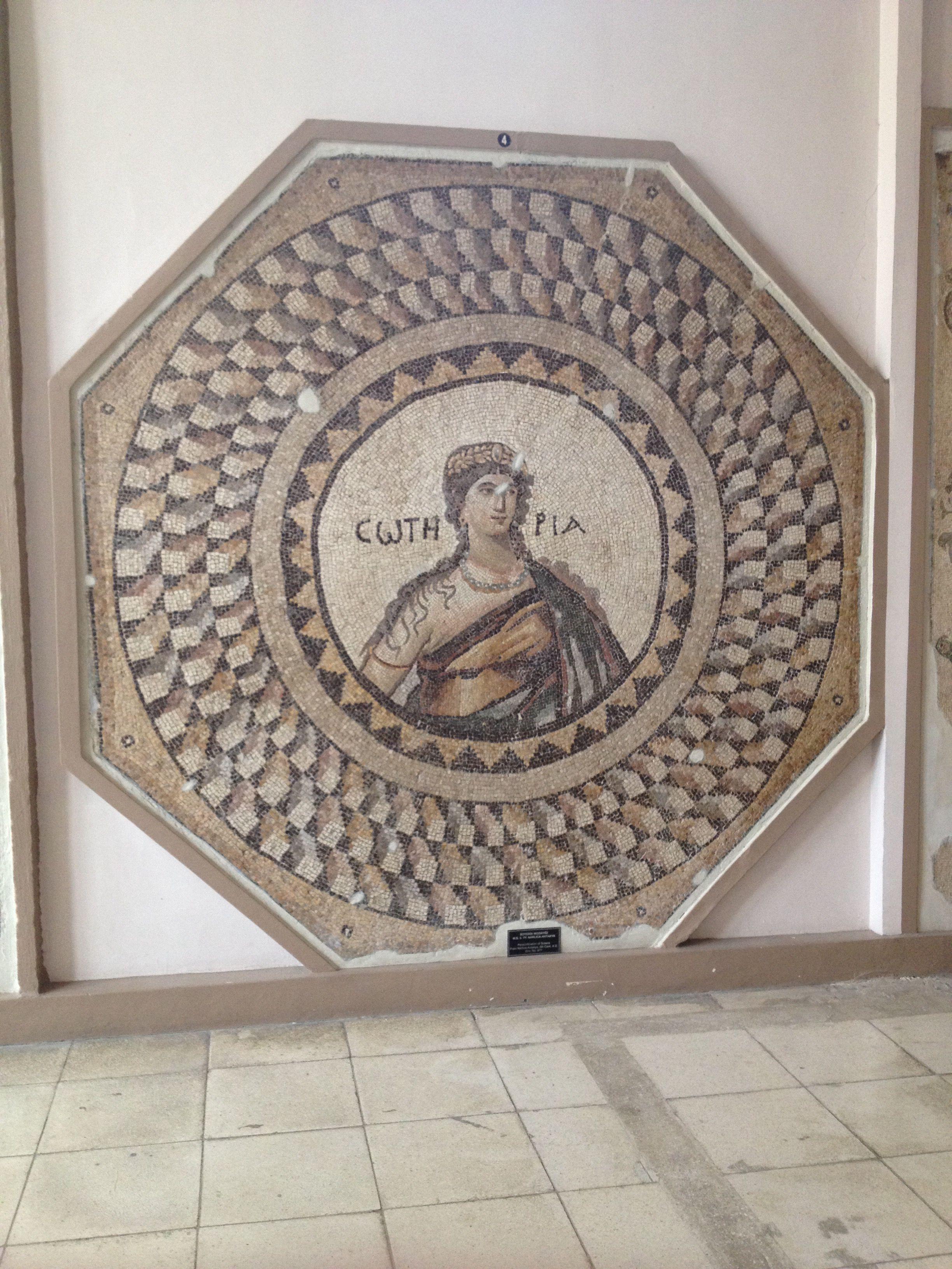 Antakya Arkeoloji Müzesi Mosaic, Roman mosaic, Cradle of