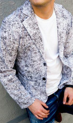 Мъжки спортно елегантни сака от памук.Български мъжки сака, които можете да носите всеки ден като връхна дреха пролет и есен.А зимата под палто...