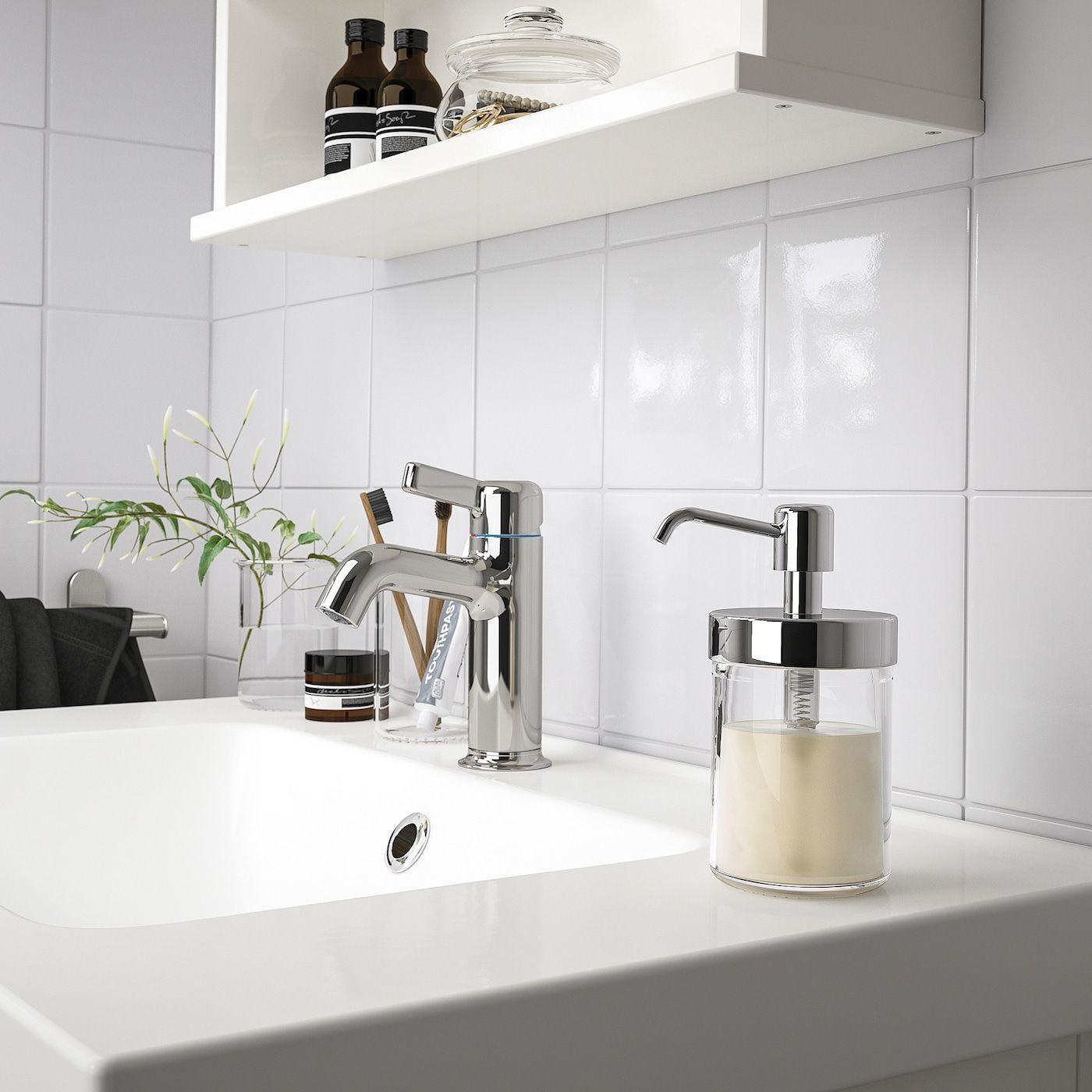 Voxnan Seifenspender Chromeffekt Ikea Osterreich Seifenspender Badezimmer Set Und Zahnburstenhalter