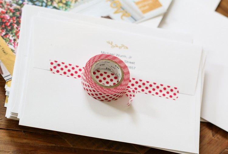 Comment décorer une enveloppe de Noël? 15 idées super festives!
