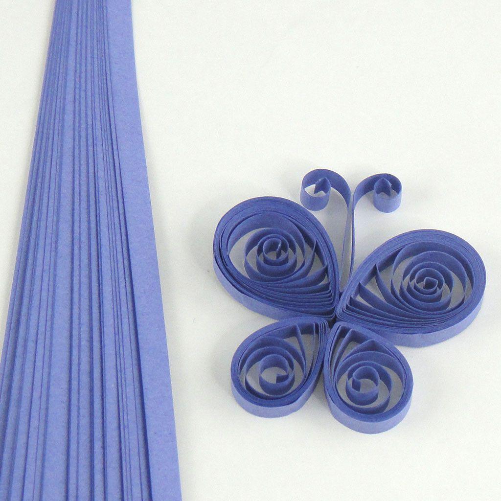 Purple Quilling Paper