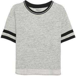Dkny Woman Jersey Top Gray Size M DKNY Low Cost Online 1CVzdZU