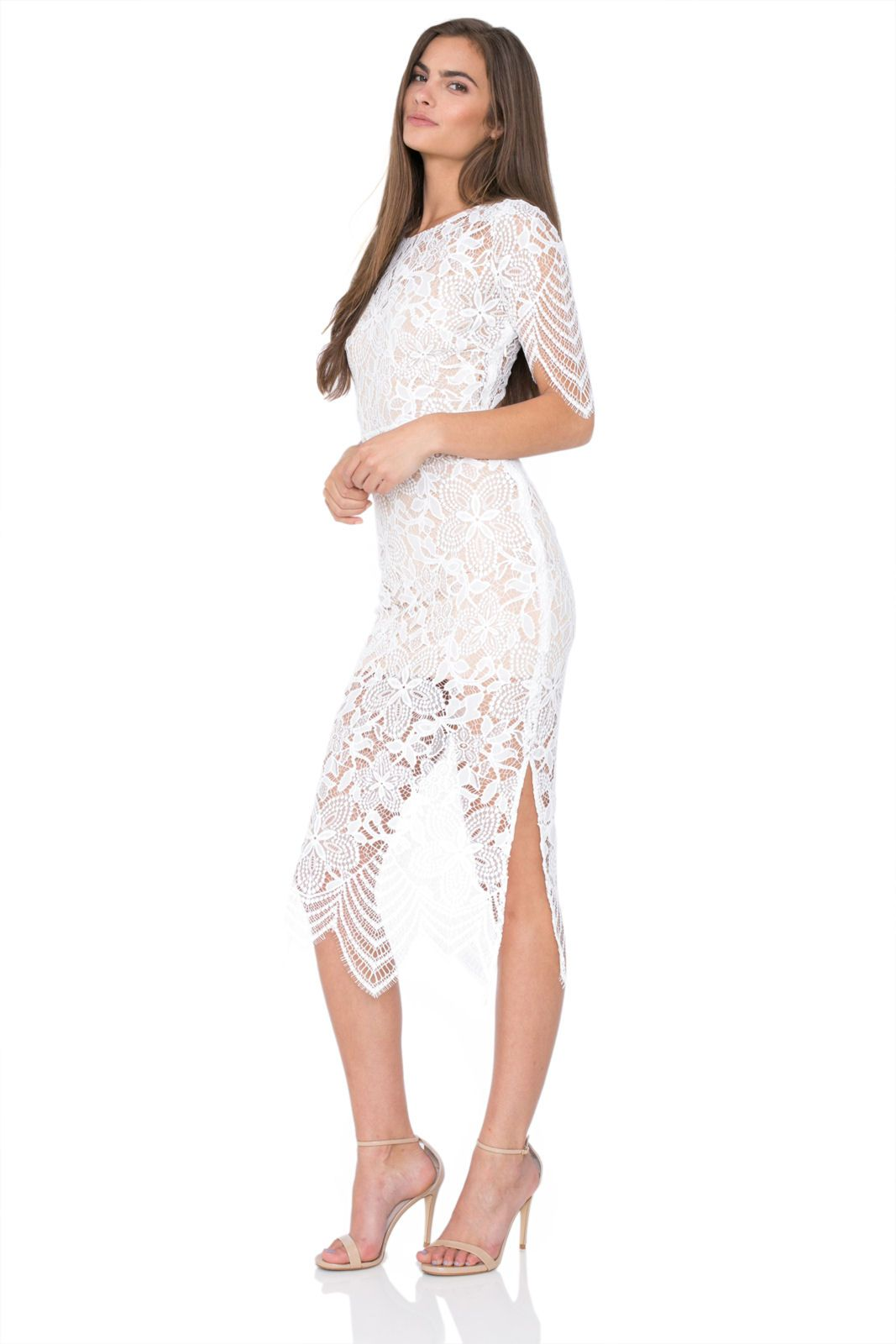 For love and lemon luaus maxi dresses white