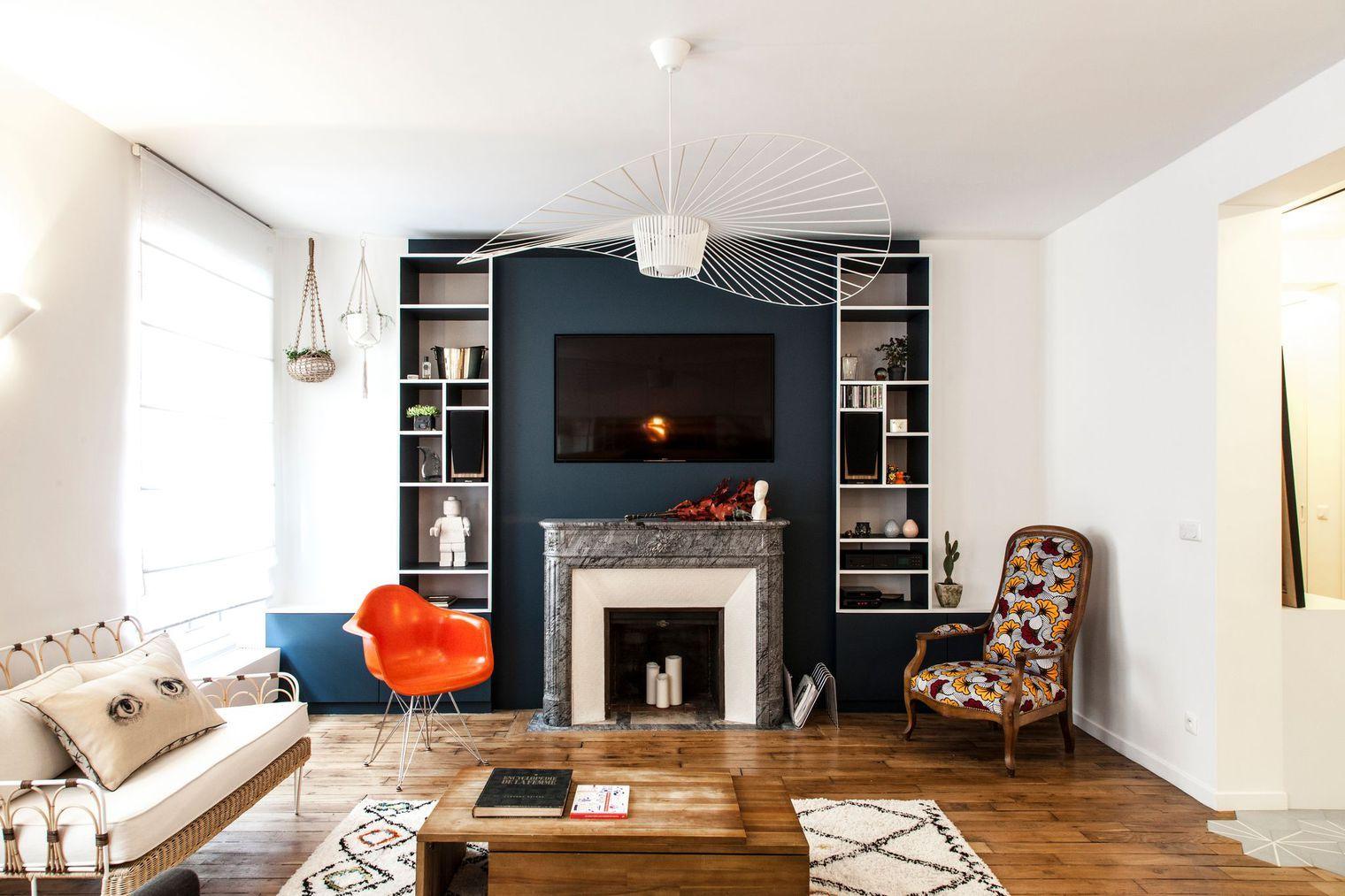 Appartement Batignolles 100 M2 Deco Et Bien Penses Appartement Loft Appartement Maison