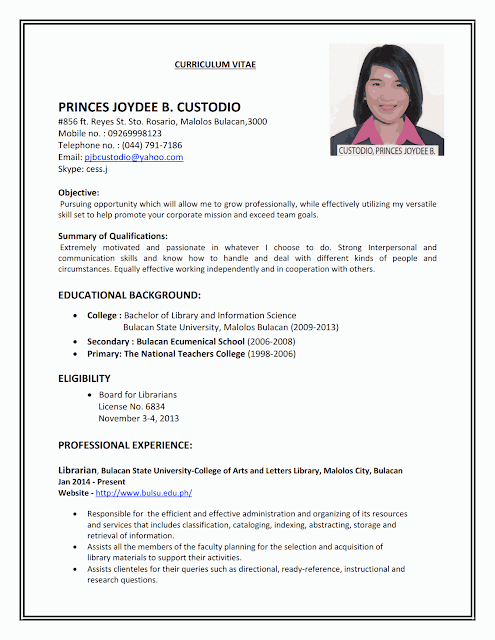 Resume Sample First Job Sample Resumes Job Search Pinterest