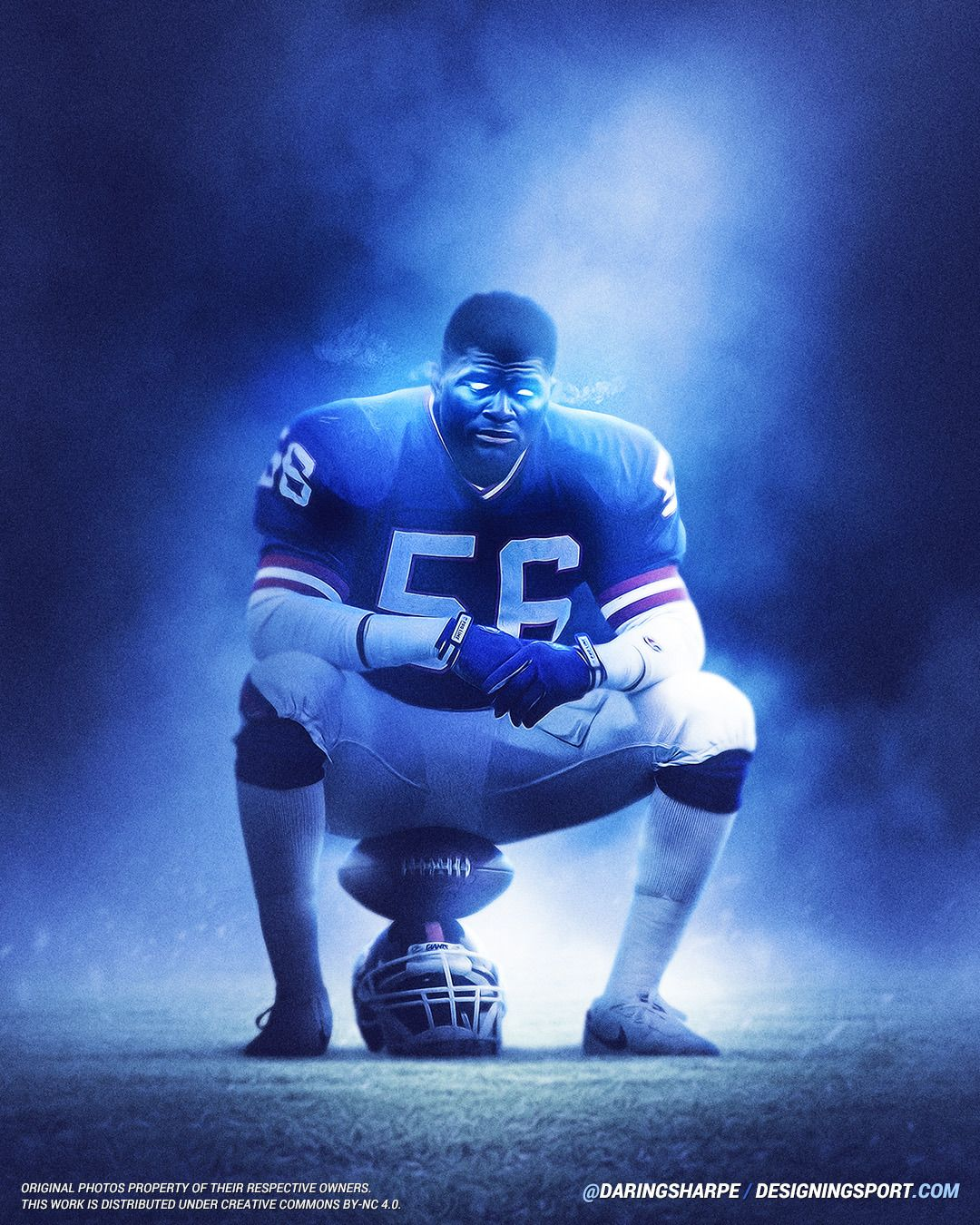 Lawrence Taylor New York Giants Ny Giants Football New York