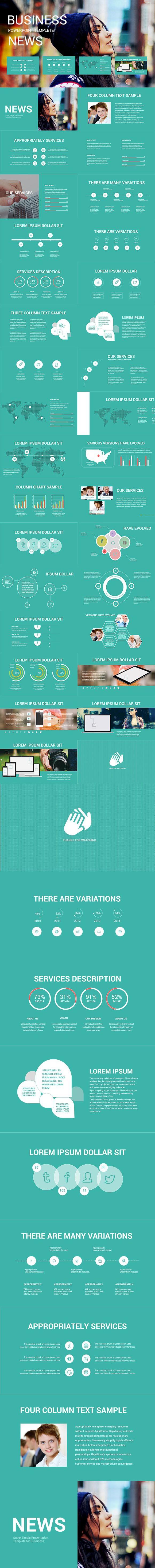 news presentation template . presentation templates   presentation, Presentation templates