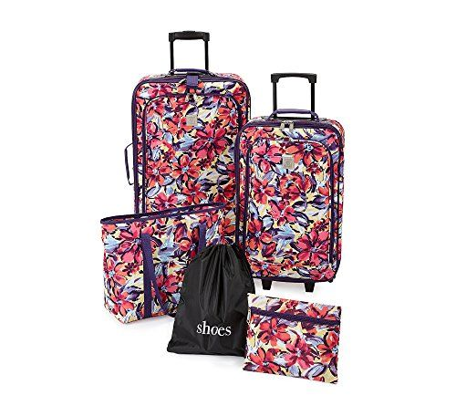 Steve Madden Tribal Luggage Large 29 Expandable Suitcase With Spinner Wheels 29in, Tribal