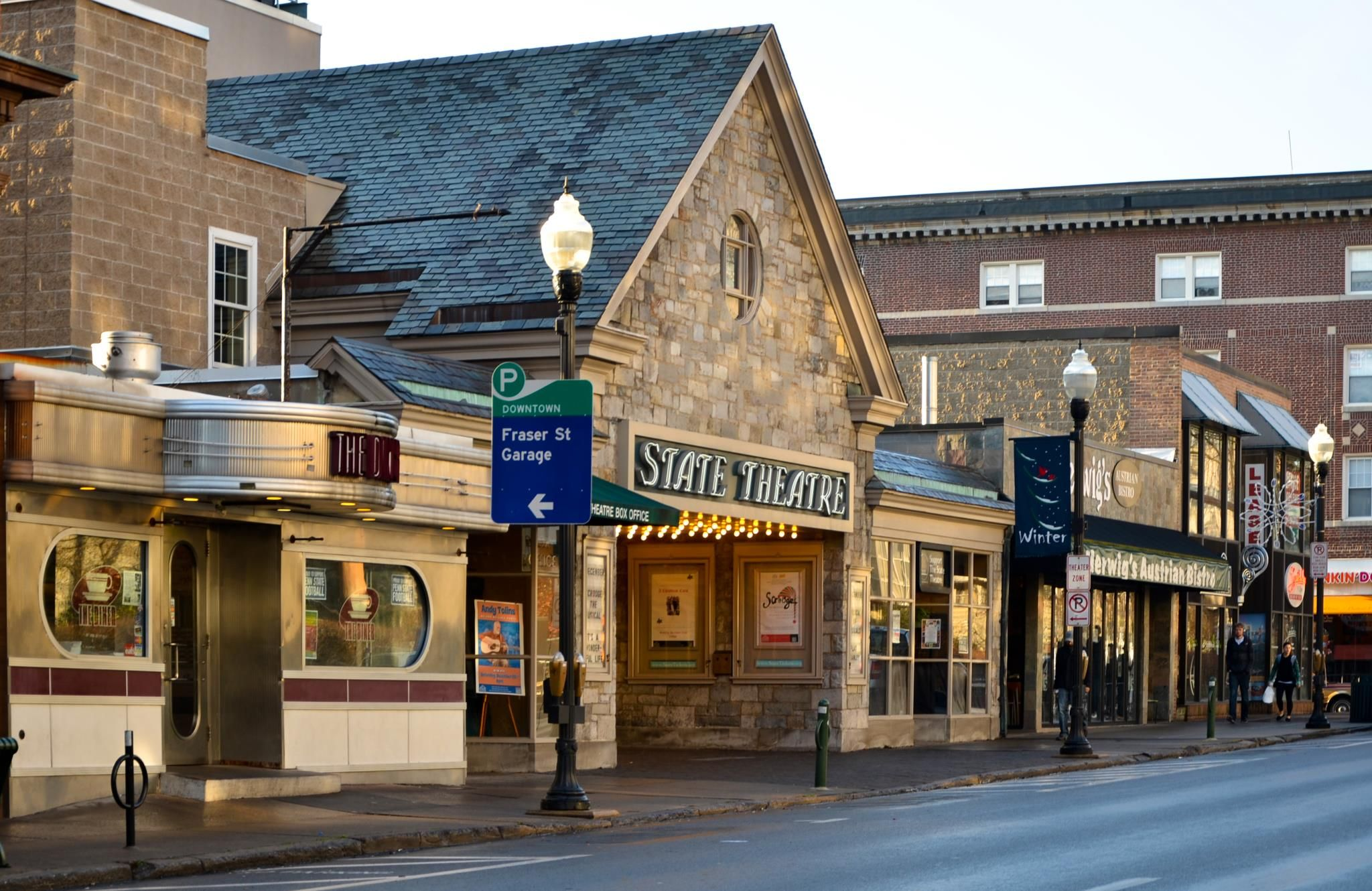 Menu For Olive Garden: The State Theater In Downtown State College, PA