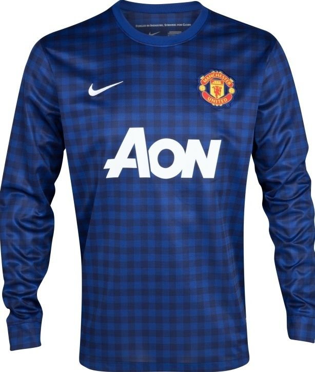 9a01a32c05f Manchester United 2012/13 Away Goalkeeper Kit - Football Shirts News ...