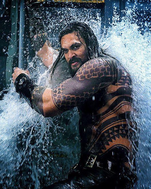 Jason Momoa Comic Con: Jason Momoa In Aquaman (2018)