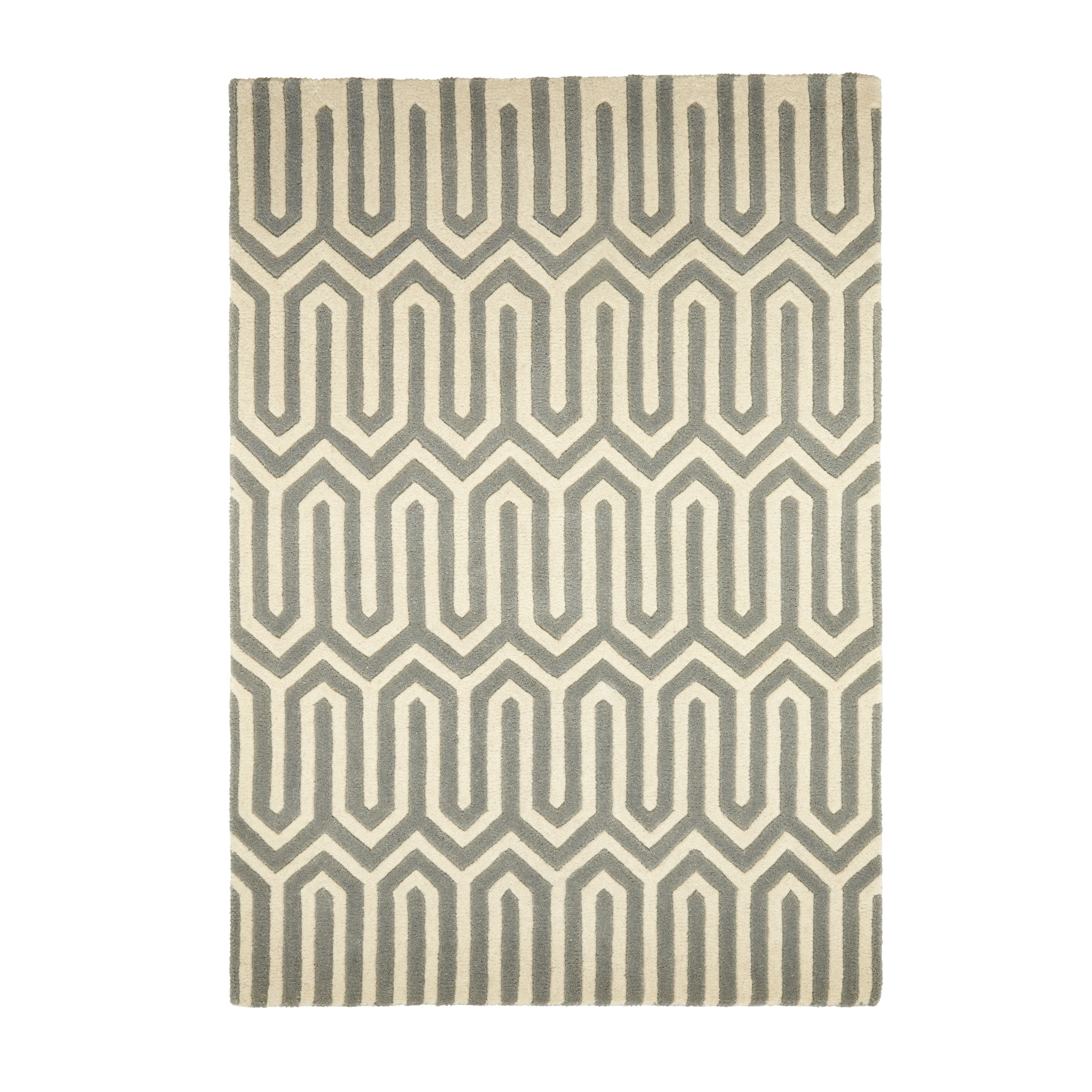 Colours Larissa Cream Grey Rug M B Q For All Your Home And Garden Supplies Advice On The Latest Diy Trends