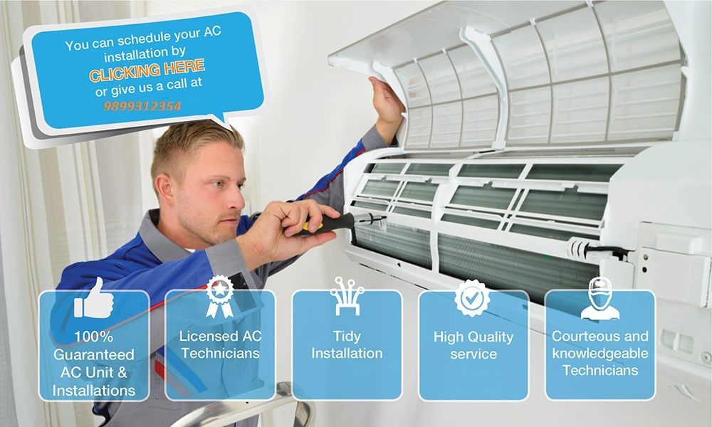 How to Find the Best AC Installation near Me in Delhi/NCR ...