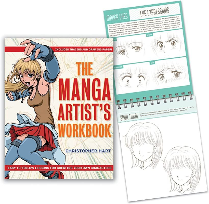 Ebook The Manga Artist S Workbook Easy To Follow Lessons For Creating Your Own Characters By The Poses Manga Vigan Delphine