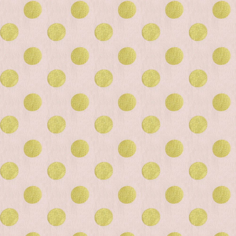 Chevron print fabric by the yard - Pale Pink And Gold Dot Fabric By The Yard