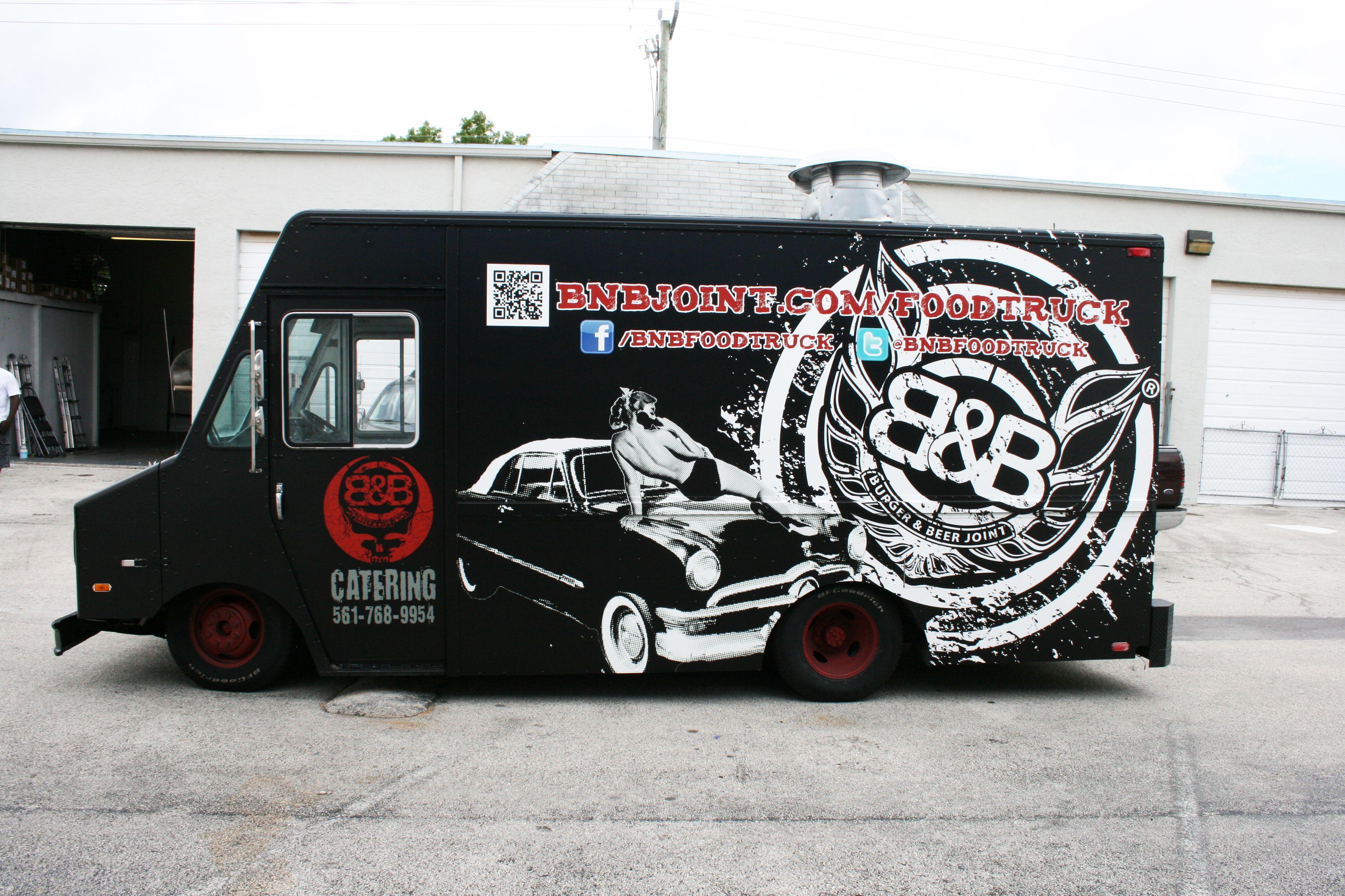 Step van food truck vinyl vehcle wraps fort lauderdale florida http carwrapsolutions