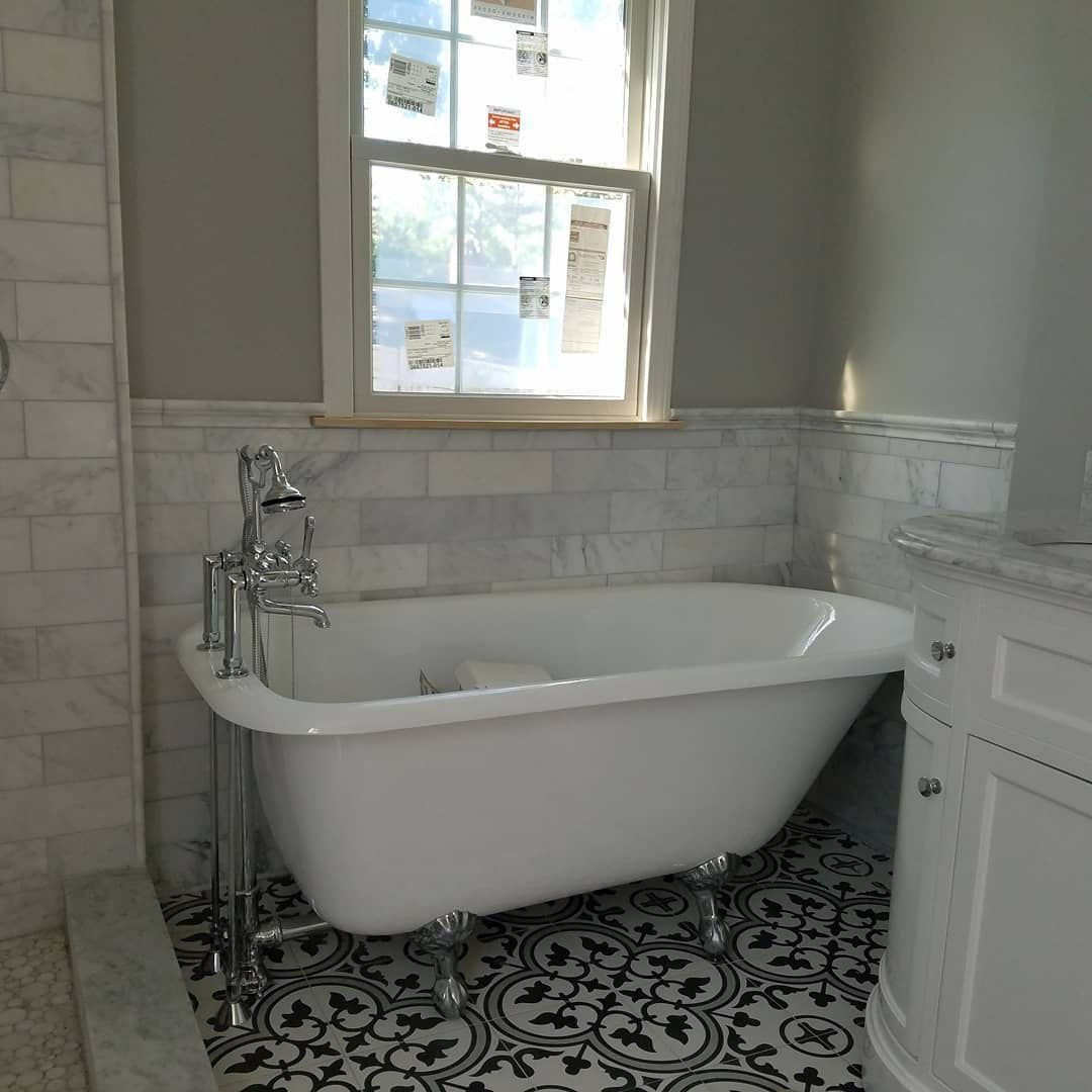 Heritage 60 Inch Cast Iron Clawfoot Tub Package With British