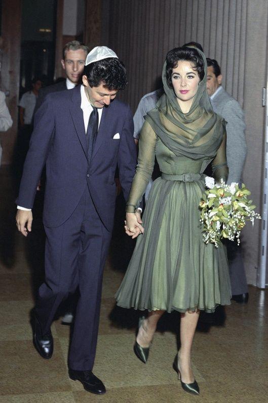Elizabeth Taylor Wedding Dress Dresses On Celebrities Elizabeth