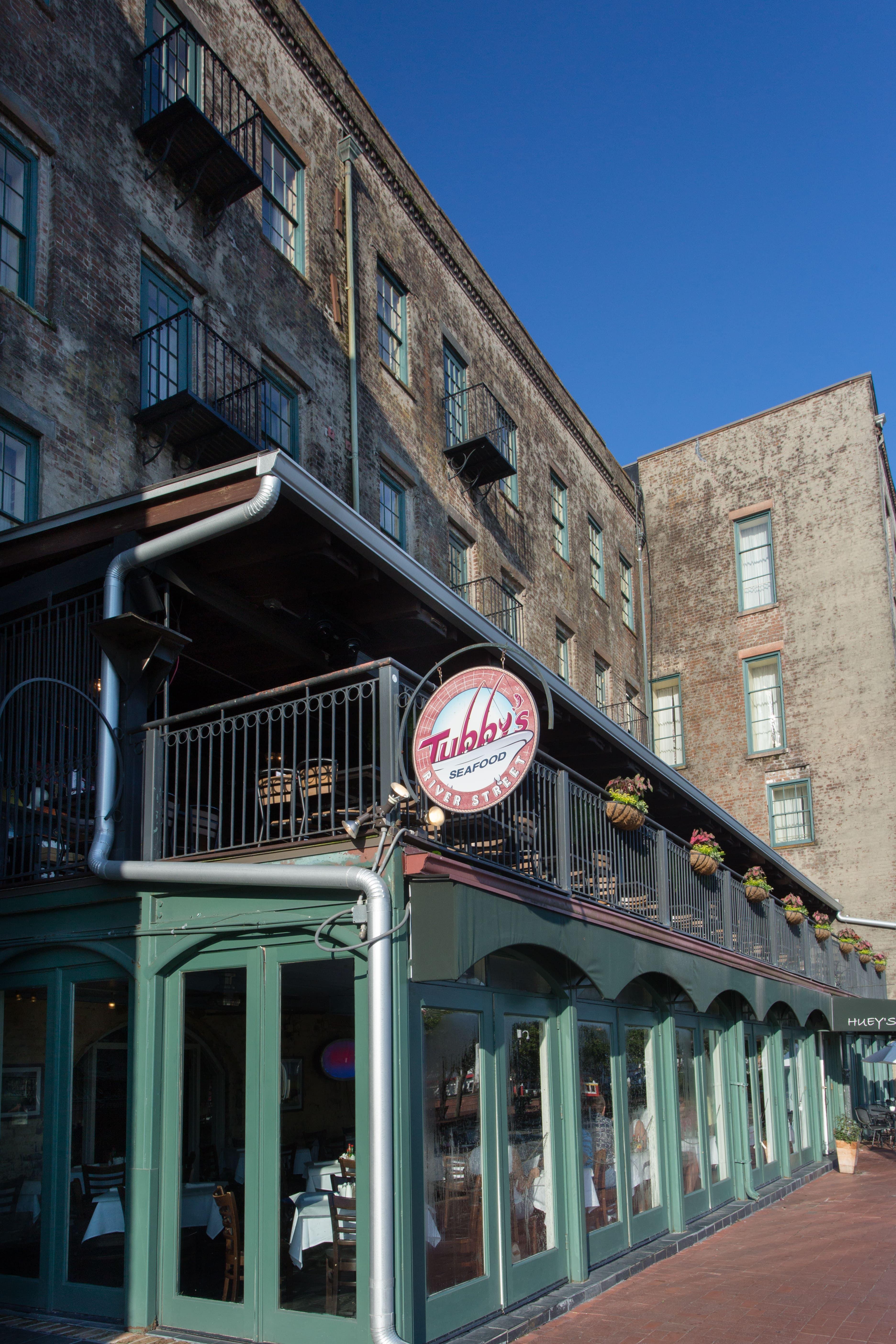 Tubby S River Streetrestaurant Tubby S River Street Savannah Chat Street River