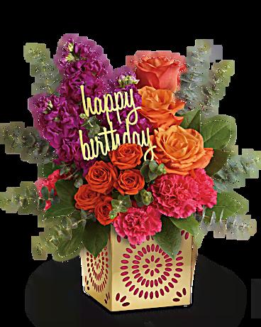 Pin by jenni kuck on Birthday Happy birthday flower